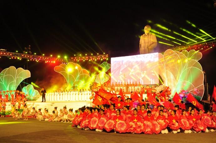 Lễ hội Làng Sen năm 2016