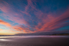 Dawn colors (ELX_Images) Tags: morning sea newzealand sky nature water lines clouds landscape dawn outdoor recreation newbrighton elxphotography