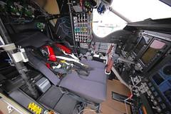 Solar Impulse Cockpit, Seat View (jurvetson) Tags: 2 solar hangar nasa ames andr pilot prep impulse borschberg