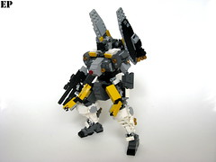 EVCS-021C Aardwolf Experimental High-Speed Type (ExclusivelyPlastic) Tags: design robot lego military figure scifi mecha mech gundamish