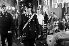 Roma, Italia (mafate69) Tags: street city portrait bw rome roma men europe italia noiretblanc candid documentary eu police nb rue italie hommes ue reportage uniforme streetshot documentaire blackandwhyte mafate69 trastrevere