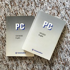 MS-DOS 3.3 and GW-Basic instruction manuals (dumell) Tags: hardware pc 33 emulator amiga books os commodore instructions printed operatingsystem manuals msdos gwbasic a2286