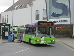 Ipswich Buses 98 X98LBJ Tower Ramparts Bus Stn, Ipswich on 98 (1280x960) (dearingbuspix) Tags: 98 ipswichbuses x98lbj