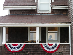 (0pton) Tags: lighthouse silhouette canon highland porch cape cod memorialday buntings s100