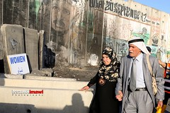Palestinians elders wait to cross the Qalandia checkpoint (TeamPalestina) Tags: heritage photo photographer natural live palestine westbank ramallah innocent ramadan freepalestine photooftheday picoftheday palestinian occupation  issamalrimawi