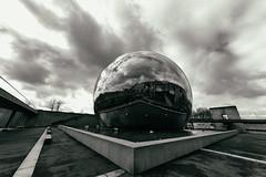 La geode noir (Rifemar) Tags: paris geode defense