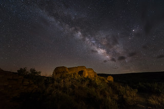 Anasazi Ruin under the Milky Way II