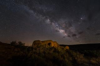 Anasazi Ruin under the Milky Way II