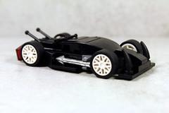 Blakbird Arrow (UndercoverWookiee) Tags: blakbird lego car arrow wheels horsepower supercar sports toy