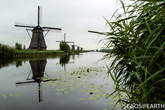 Windmills Kinderdijk (SGEOS@EARTH) Tags: world morning heritage windmill sunrise canon landscape eos windmills kinderdijk sgeosearth