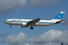 9K-AMA - Airbus A300B4-605R - Kuwait Airways (Digi-Mike) Tags: plane germany air airbus spotting frankfurtmain a300 kuwaitairways fraeddf canoneos700d 9kama