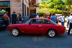 Diavola rossa (maximilian91) Tags: italy italia liguria alfaromeo oldcars vintagecars italiancars montoggio gtjunior alfaromeogtjunior alfaromeogtjunior1300
