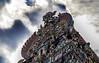 Meenakshi Amman Temple (Tiklaas) Tags: sky sculpture india detail clouds temple asia head colorfull religion amman hinduism madurai sculptures tamil tamilnadu meenakshi kovil meenakshiammantemple meenakshisundareswarartemple meenakshiammankovil sundareswarar tiruaalavaai aalavaai