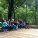 Hira Kindergarten enjoy the new outdoor classroom