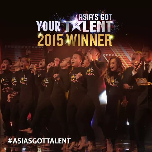 Congratulations El Gamma Penumbra!! World class pinoy talent. Well deserved. 👍👍👍 #asiasgottalent #pinoypride #filipino