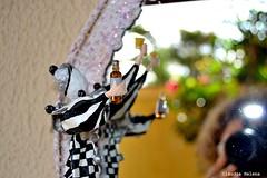 Pierr apaixonado (* Cludia Helena * brincadeira de papel *) Tags: brazil love brasil amor pierrot papermache papiermach papelmach cludiahelena