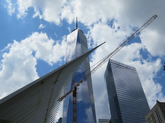 One World Trade Center, May 22, 2015 (NYMAN2010) Tags: nyc newyorkcity newyork skyline skyscraper spring construction wtc freedomtower oneworldtradecenter