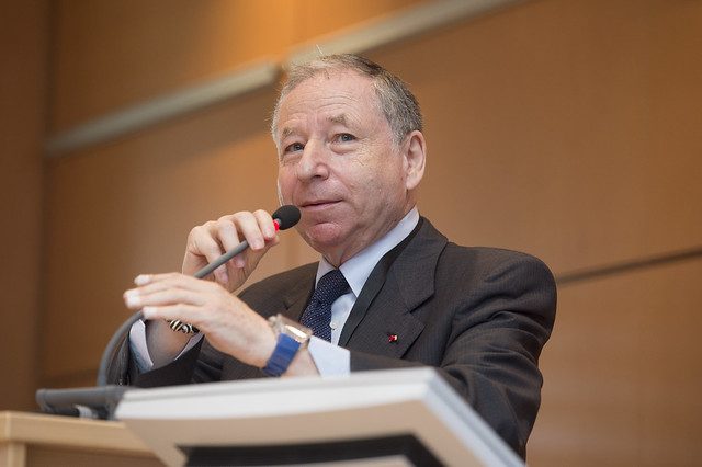 Jean Todt responds to a question