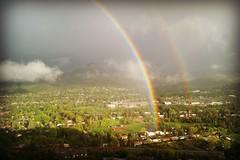 *a heavenly rainbow over Durango* (^i^heavensdarkangel2) Tags: sky canon rainbow colorado father durango colorfulcolorado heavenlyholiday desbahallison heavensdarkangel2 memorialday2015