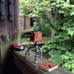 Somewhere in Bayern, Germany. (Dguyzé) Tags: germany pinhole setup pinholecamera makingof zeroimage zero69 sténopé setupshot gorillapod