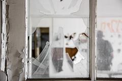 Outline (michael_hamburg69) Tags: man broken window glass urbanexploration mann outline glas contour urbex splitter abandonedplace offthemap scheibe umris lostplace kontur