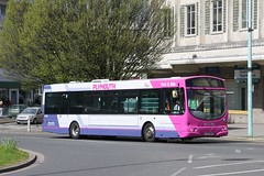 First 60910 YJ51 RFK (johnmorris13) Tags: bus eclipse volvo first wright parkride b7rle 60910 yj51rfk