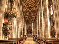 St. Georgs-Kirche Dinkelsbhl (Habub3) Tags: church canon germany deutschland kirche powershot g12 2015 dinkelsbhl habub3