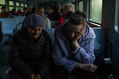 (agkruchkov) Tags: grandma people train grandmother transport gran overheard granny interview grannie