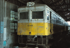 Along lost lines - Taiwan - Hualien-Taitung-Line (railasia) Tags: taiwan depot nineties tra motorcar 762mm lostline leftinfra leftstock hualientaitungline classldr