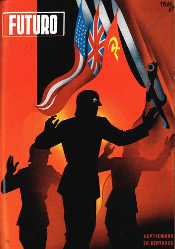 Portada de Josep Renau Berenguer para la Revista Futuro (septiembre de 1943)
