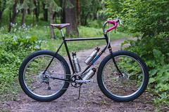 _DSC7807 (markreimer) Tags: crust df 26 bikes plus schmidt velocity rasta touring brooks xtr nitto chrisking shimano barend philwood dynamo cld dfl dually whiteindustries bikepacking 1x10