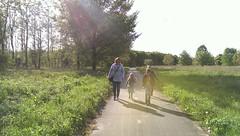 Stukje fietspad.  Door het bos en het polderlandschap. #og: (rubentijdlijn) Tags: og