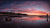Chasing the light (RoosterMan64) Tags: longexposure seascape reflection clouds sunrise landscape au australia nsw newsouthwales warriewood rockshelf turimettabeach