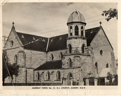 Murray Views No 21 R.C. Church, Albury, NSW (Daddys 'lil Girl) Tags: postcard australia nsw historical 1949 wagga albury riverina