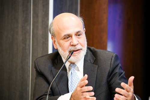 Ben Bernanke, distinguished fellow in residence in the Economic Studies program at Brookings and former chairman of the board of governors of the Federal Reserve System
