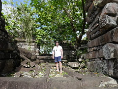 Playing Indiana Jones at Nan Madol. I wonder why this place isnt a UNESCO world heritage site yet?