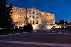 Syntagma Square-Greek Parliament (Magganaris Manolis) Tags: nikon d7100 greek parliament syntagma square greece architecture athens city nikkor 1685 blue sky