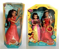 Disney Store Elena of Avalor dolls (honeysuckle jasmine) Tags: disney store princess elena of avalor isabel latina dolls