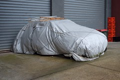Car cover (martyr_67) Tags: sooc melbourne cover car