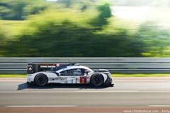 Porsche 919 Hybrid LMP1 - 24 Heures du Mans 2016 (Rmy | www.chtiphotocar.com) Tags: 24 hours le mans 2016 lm24 24h heures fia wec world endurance championship racing race car photo nikon sigma lightroom porsche stuttgart 919 hybrid v4 lmp1 p1 prototype dmg mori