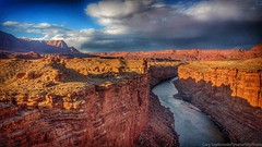 Carved By Time (szatkowski.gary) Tags: cliff water arizona canyon river geology