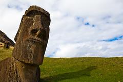 rapa nui 213 16 40  0798 (moments caught in flight) Tags: rapanui easterisland moai ranoraraku quarry