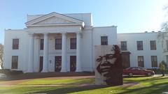 Cape Town (lazarsvicevic) Tags: nelson mandela building far cape town huge white structure big