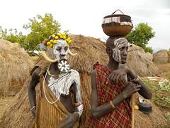 Mursi tribe (davidevarenni) Tags: mursi etiopia ethiopia tribe trib