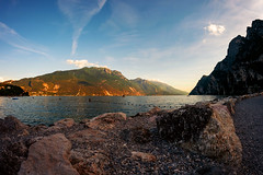 Riva del Garda (manuelwieler) Tags: landscape seascape rivadelgarda riva lakegarda garda lagodigarda italy travel
