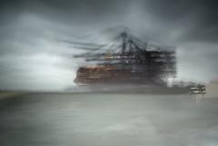Ubiquitous_iv (Jonny Bell) Tags: jonnybell icm multipleexposures blur movement sea shipping suffolk felixstowe painterly