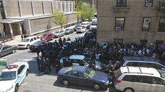 "20150504_121245 (Batya7, ""JustHavingFun"") Tags: nyc public corner funeral jewish unusual bennett washingtonheights eulogy dumbrow"