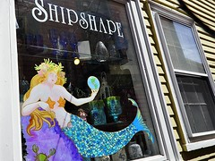 Shipshape (AntyDiluvian) Tags: window boston shop store marblehead massachusetts northshore nautical mermaid giftshop shipshape