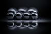 Steel Ball Reflections - Lines (Stevpas68) Tags: blackandwhite bw stilllife abstract macro monochrome metal reflections mirror shiny steel patterns balls chrome escher spheres escheresque votogs