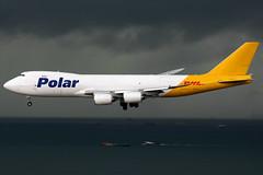 Polar Air Cargo | Boeing 747-8F | N853GT | Hong Kong International (Dennis HKG) Tags: plane canon airplane hongkong airport aircraft cargo 1d po boeing polar boeing747 hkg 747 pac freighter dhl planespotting cheklapkok 100400 polaraircargo 7478 vhhh boeing7478 7478f boeing7478f n853gt